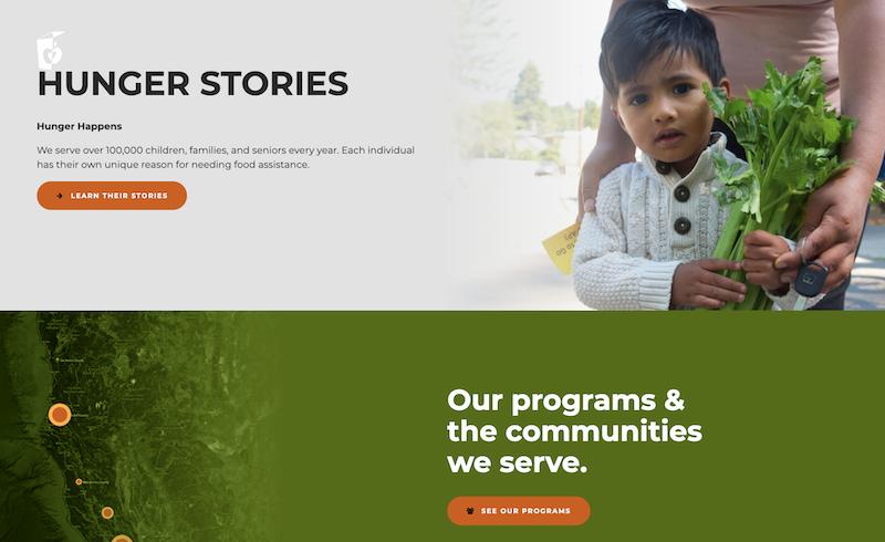 Redwood Empire Food Bank Homepage