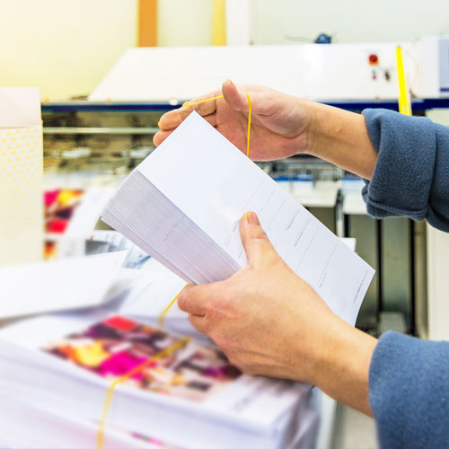 direct mail and marketing materials