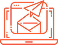 email marketing automation icon