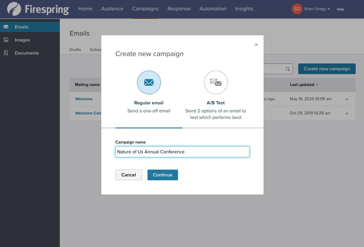 event registration email marketing integration
