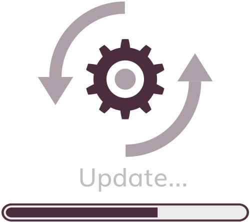 website development managed hosting plugin version updates