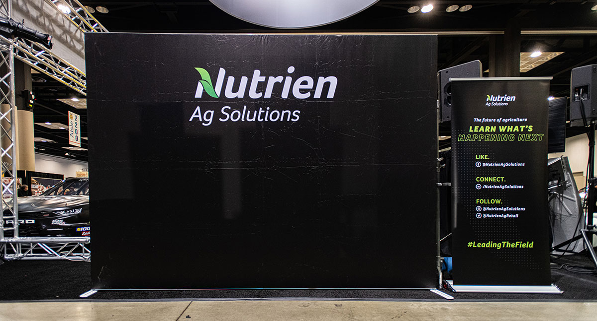 trade show displays and materials