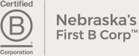 Nebraska's First Certified B Corporation