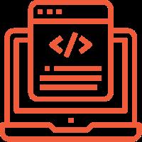 marketing services web application development icon