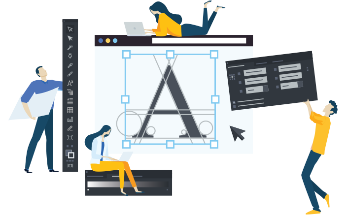 creative marketing services design illustration animation