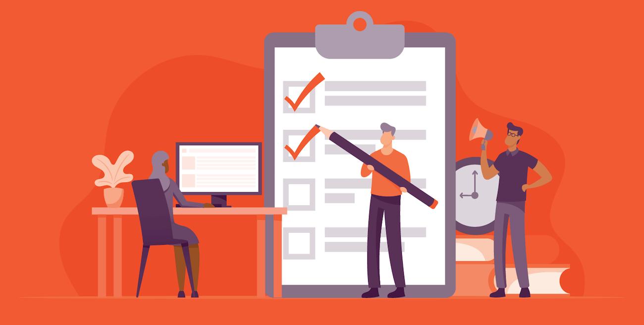 image illustrating nonprofit website assessment worksheet