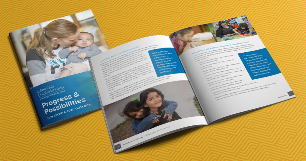 annual report for Buffet Early Childhood Fund