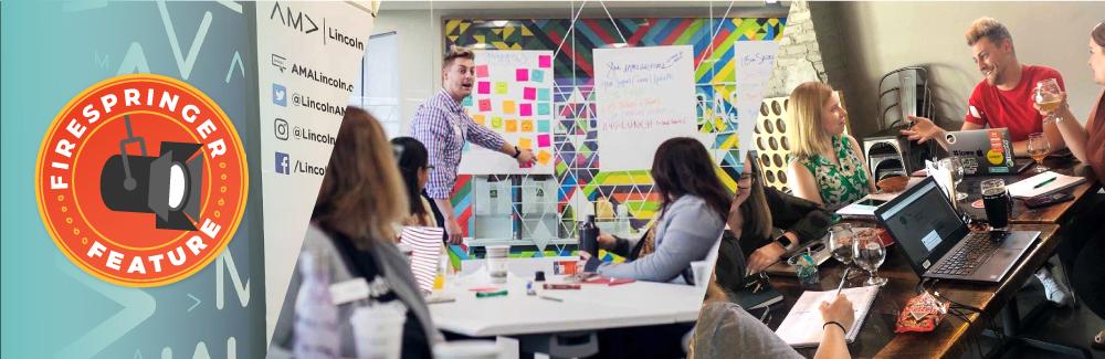 Firespringer Feature: Nathan Schreiter, an American Marketing Association volunteer leader