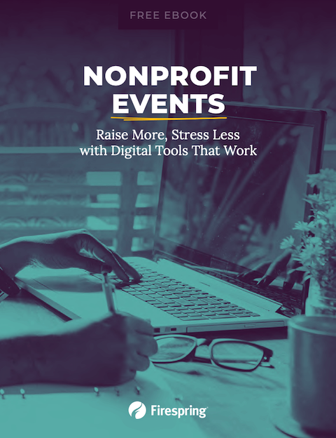 image illustrating nonprofit events ebook cover