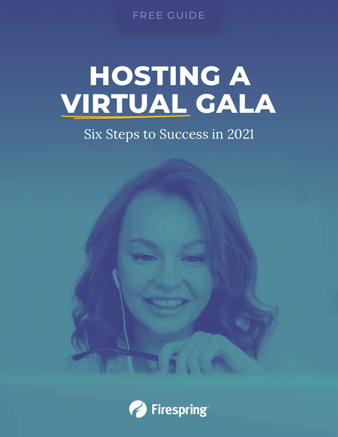 image illustrating planning virtual gala
