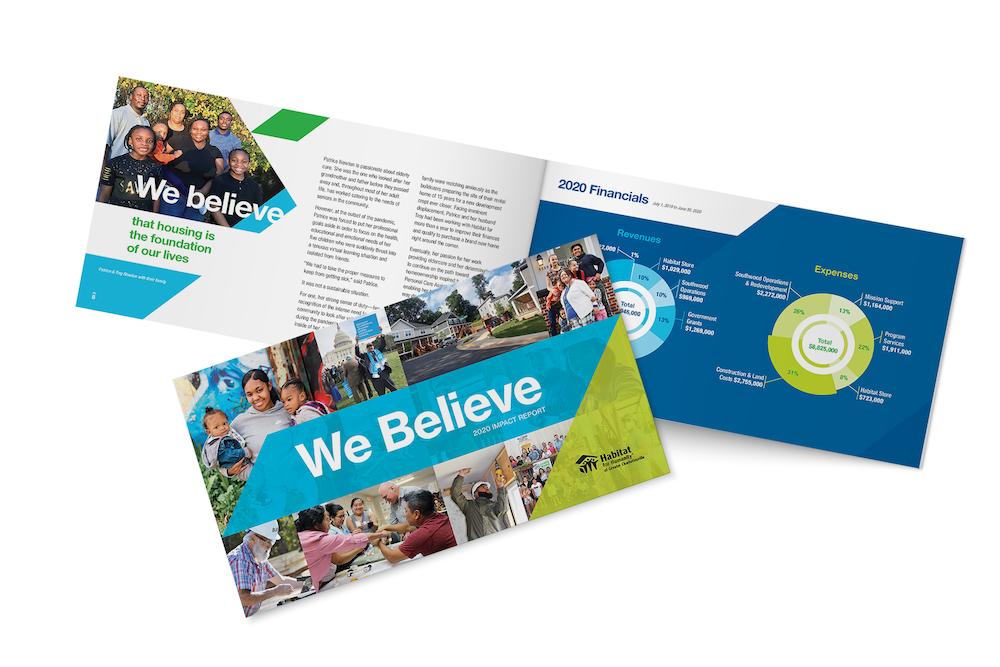 print marketing materials - annual report
