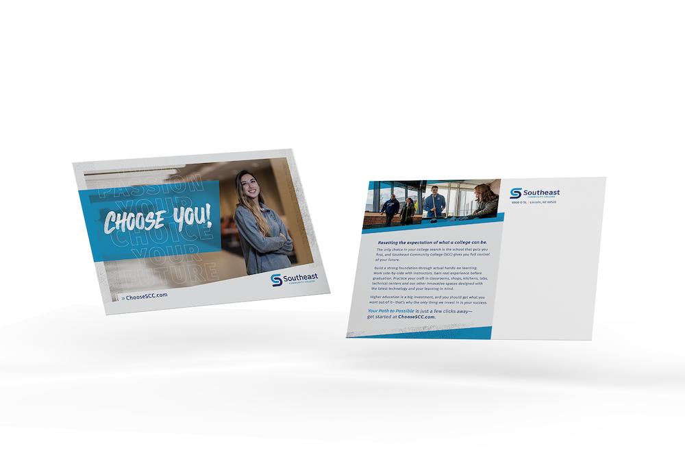 print marketing materials - direct mail postcard