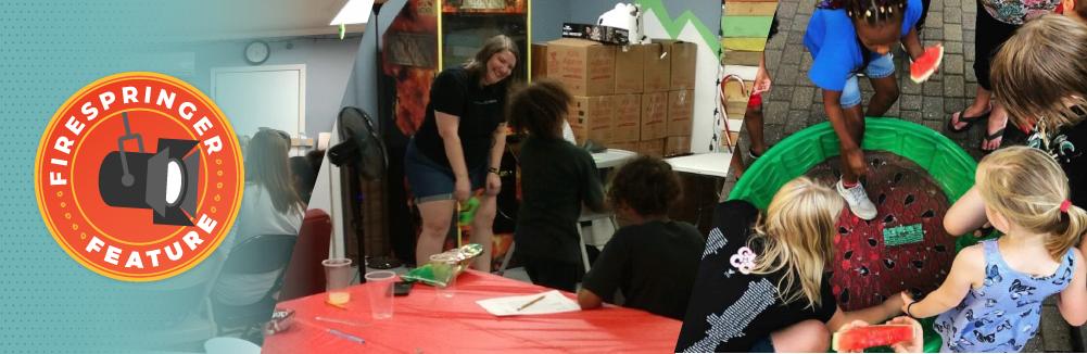 Firespringer Feature: Allison Mellick, filling her bucket through Kids at the Well