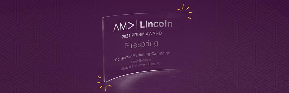 Firespring Receives 2021 AMA Prism Award
